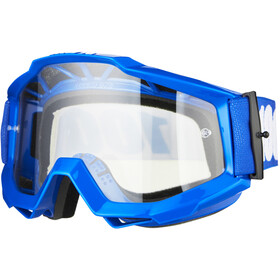 100% Accuri OTG Anti Fog Clear Gafas, reflex blue
